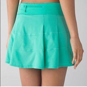 lululemon Pace Rival II Running Skirt Sz 12 Tall
